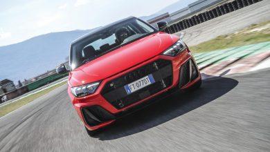 Audi A1 2019 prova in pista