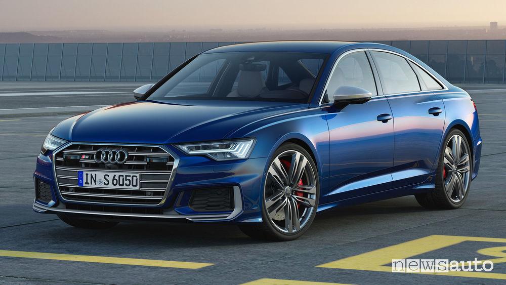 Audi S6 TDI vista di profilo