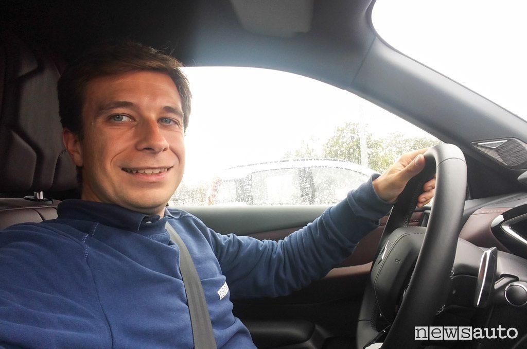 DS 3 Crossback prova con Marco Paternostro
