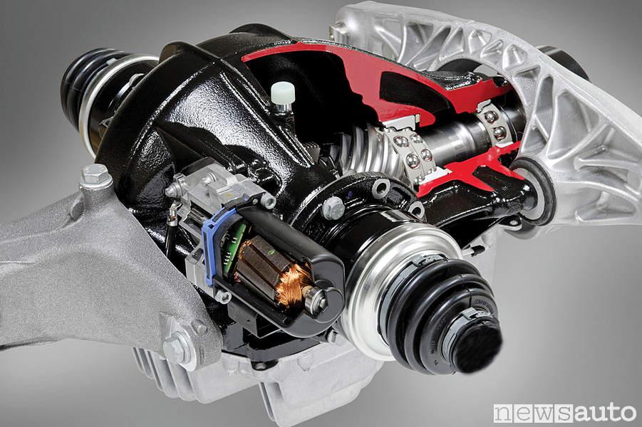 Diffrenziale bloccabile elettronicamente (autobloccante) Toyota Supra e BMW