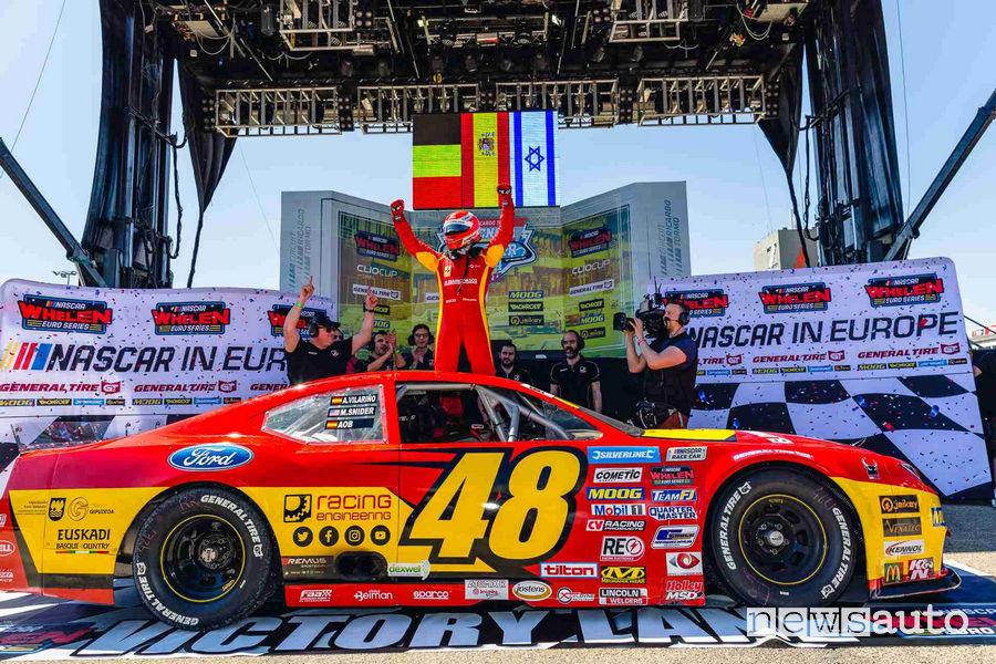Auto per gare NASCAR Whelen Euro Series 2019 gommata General Tire
