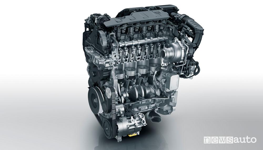 Motore BlueHDi 130 S&S quattro cilindri di Groupe PSA