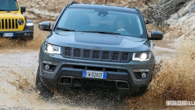 Photo of Jeep Compass Trailhawk, versione per l'off road