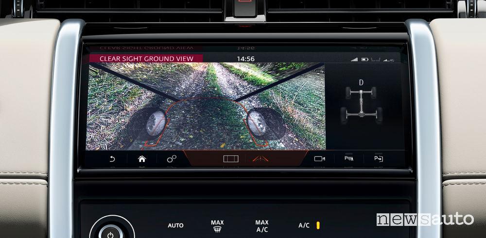 Land Rover Discovery Sport retrocamera