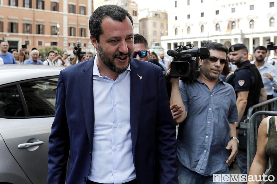 Matteo Salvini è favorevole alla fusione FCA / Renault