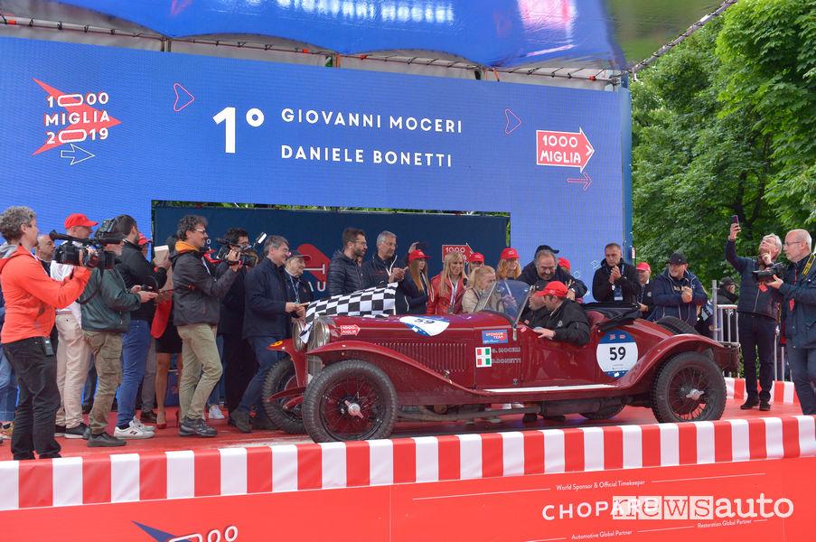 Mille Miglia 2019 equipaggio vincitore Moceri/Bonetti Alfa Romeo 6C 1500 SS 1928