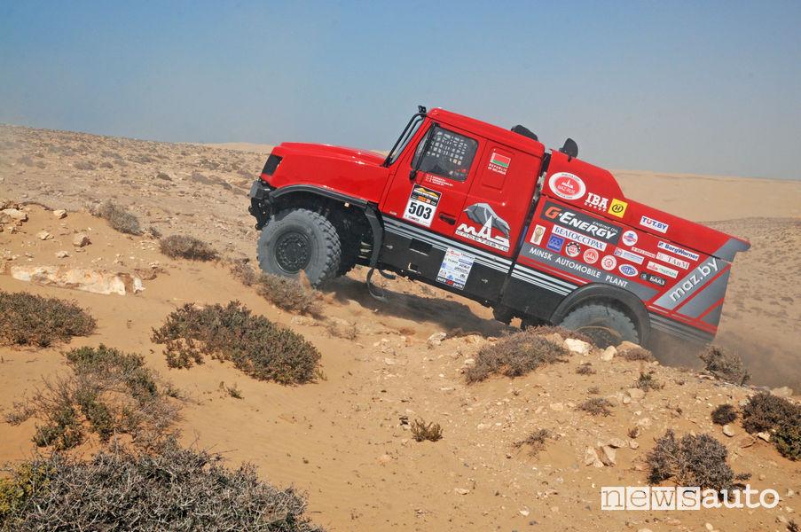 MAZ 640RR di Siarhei Viazovich al Morocco Desert Challenge 2019
