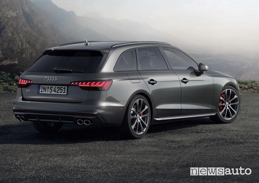 Audi S4 Avant TDI vista posteriore