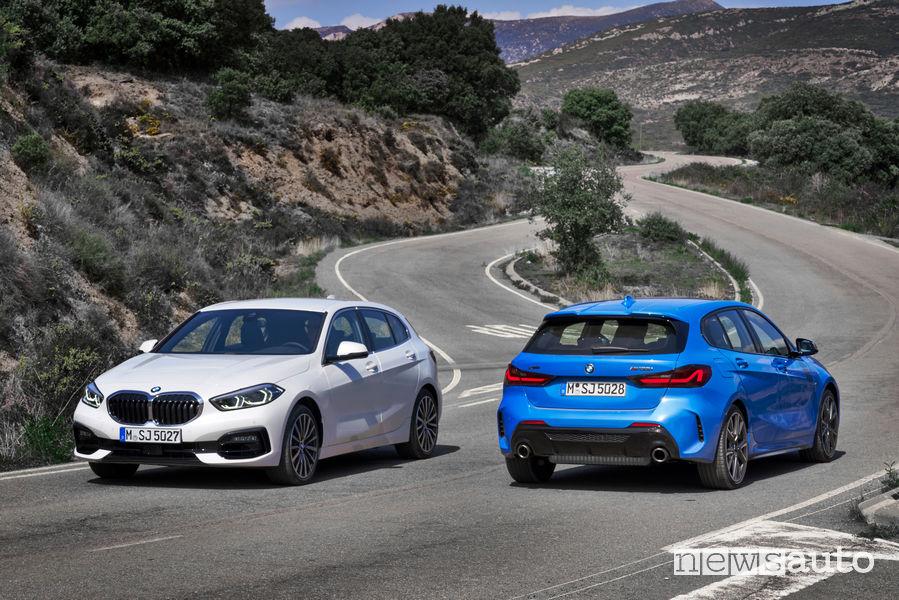 Foto della nuova BMW Serie 1 118i e M135i xDrive