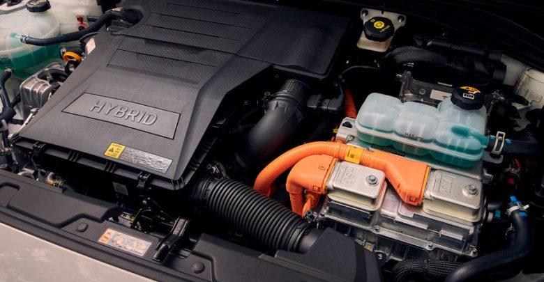 Vano motore Hyundai Ioniq Hybrid