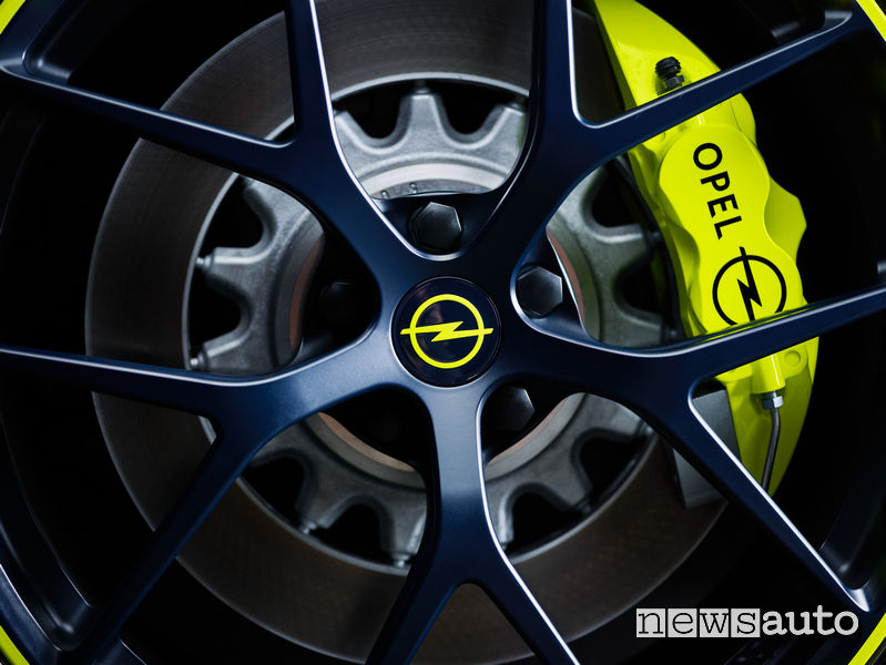 Opel O-Team Zafira Life concept impianto frenante