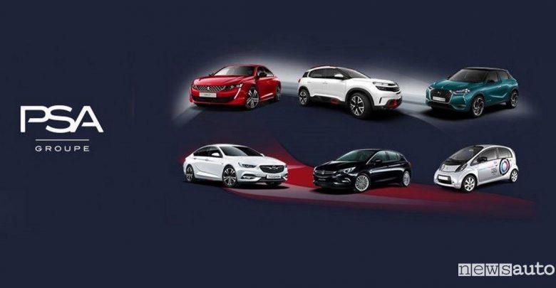 mercato auto aprile 2019 Citroen Peugeot DS Opel