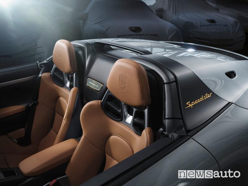 Sedili Porsche 911 Speedster Heritage Design