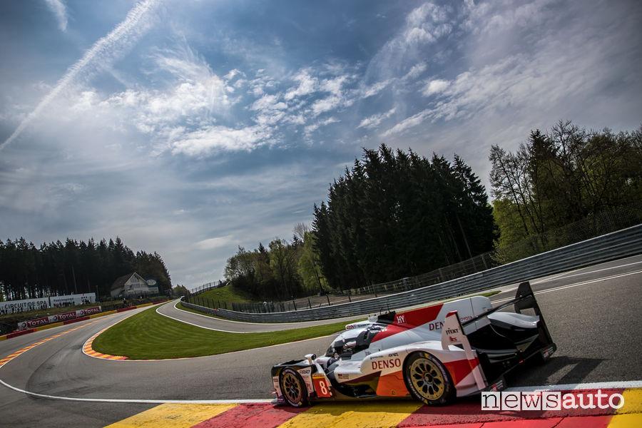 WEC 2019 6 ore Spa-Francorchamps Toyota TS050 Alonso/Nakajima/Buemi