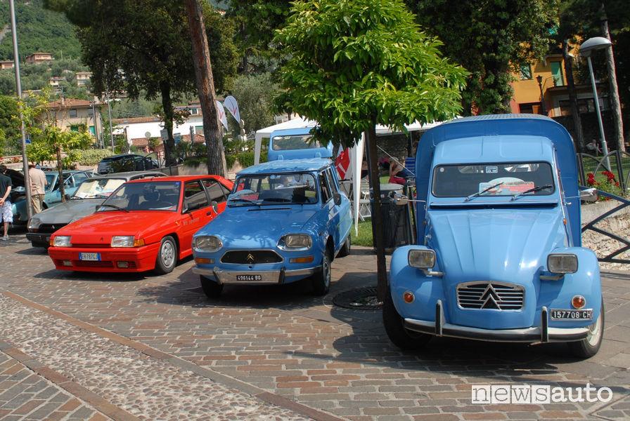Raduno auto storiche Citroën