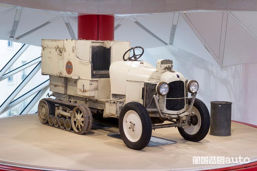 """Autocingolato Citroën """"Scarabée d'Or"""" vista di profilo"""