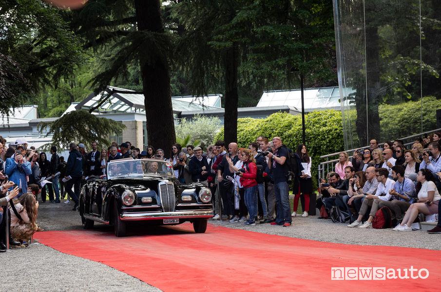 Lancia Astura Cabriolet 1938 al Concorso Villa d'Este 2019