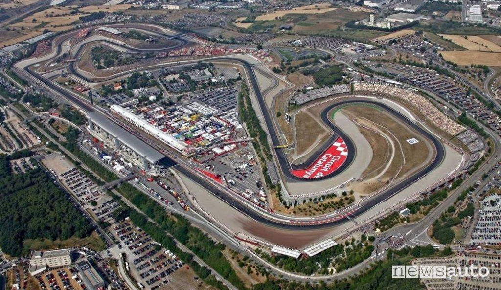 F1 Gp Spagna circuito di Montmelò