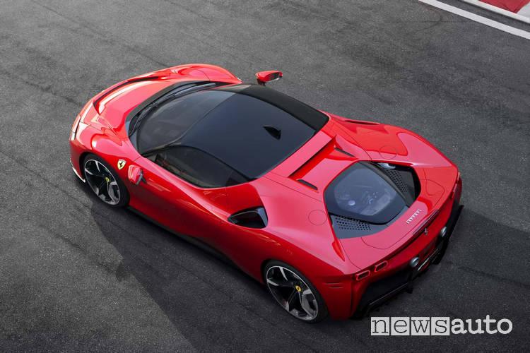 Ferrari elettrica SF90 Stradale