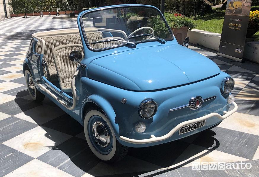 Fiat 500 Jolly Icon-e Garage Italia vista di profilo