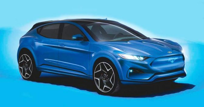 Nuovo Crossover Ford 2020 rendering