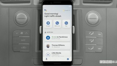 Google Assistant modalità di guida