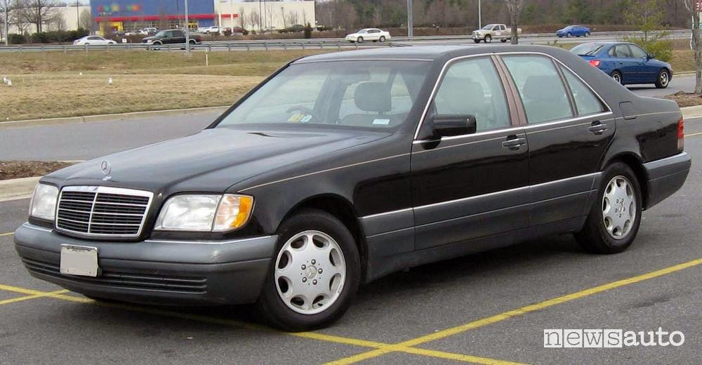 Mercedes S 280 la stessa di quella coinvolta nell'incidente Lady Diana
