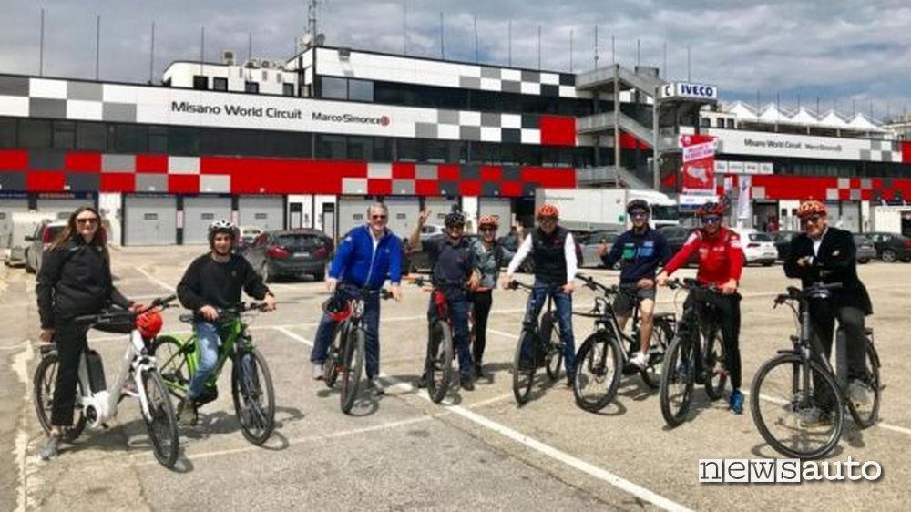 misano-circuit-tour-ebike  visite guidate in autodromo di Misano con la bicicletta.
