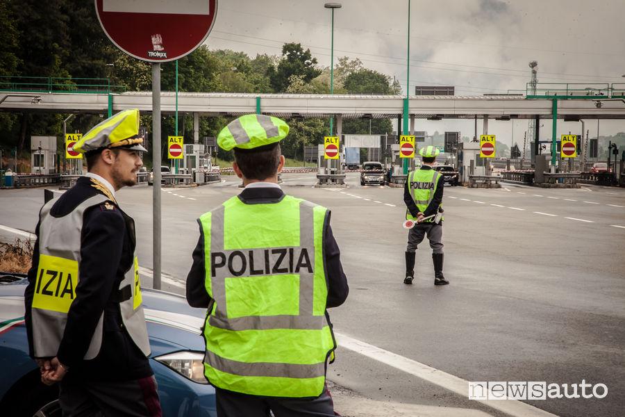 Pneumatici auto usurati controlli Polstrada