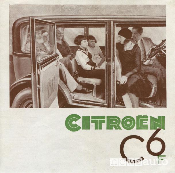 Sedili Citroën C6 Familiale 1930