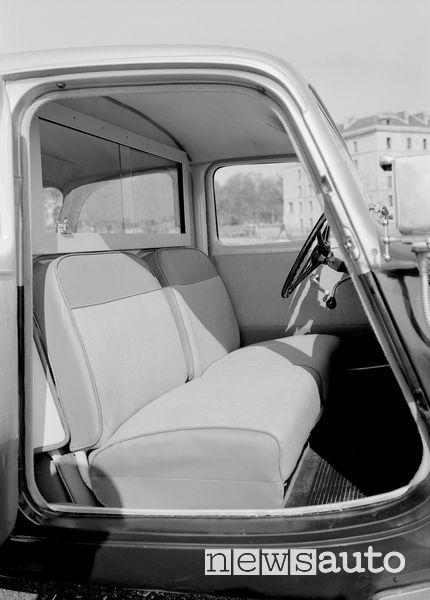 Sedili Citroën Traction Avant Taxi 1954