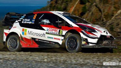 Rally Cile 2019 Toyota Tanak