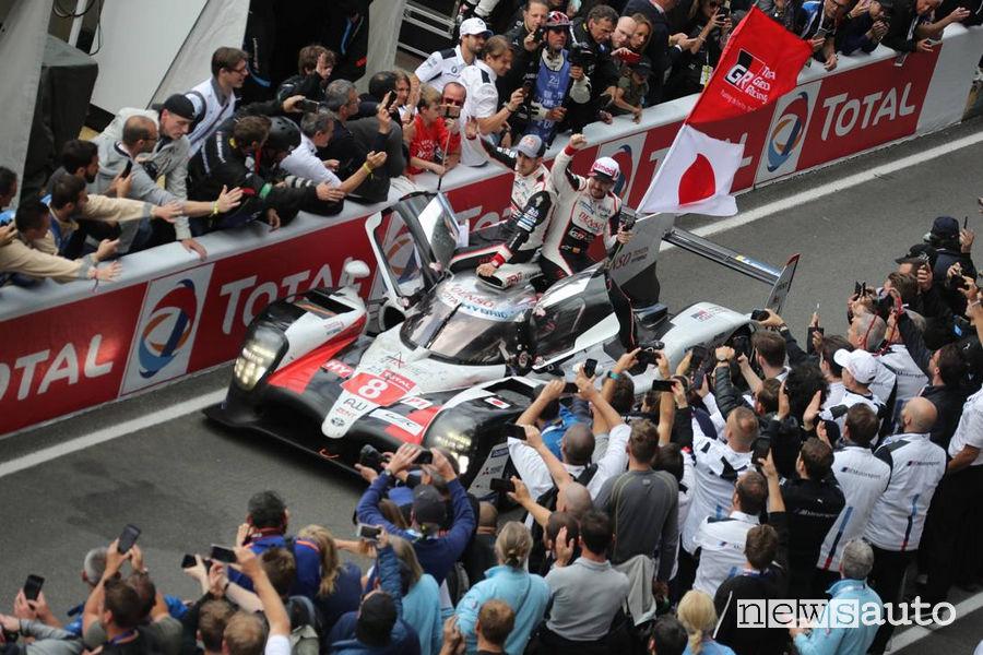 Fernando Alonso, campione del mondo Wec