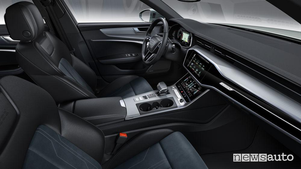 Audi A6 allroad quattro sedili anteriori