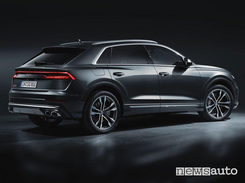 Audi SQ8 TDI vista posteriore