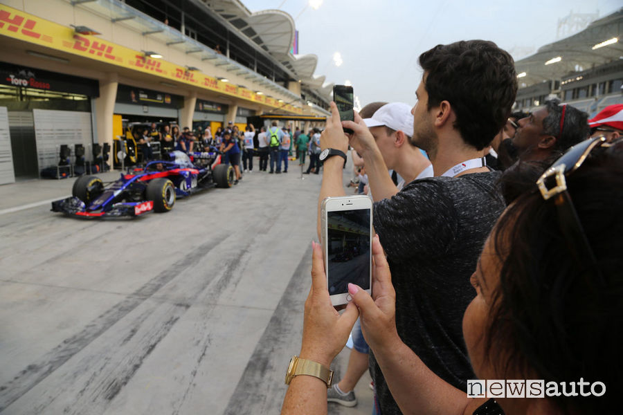 Paddock F1 pit-lane come entrare a Monza