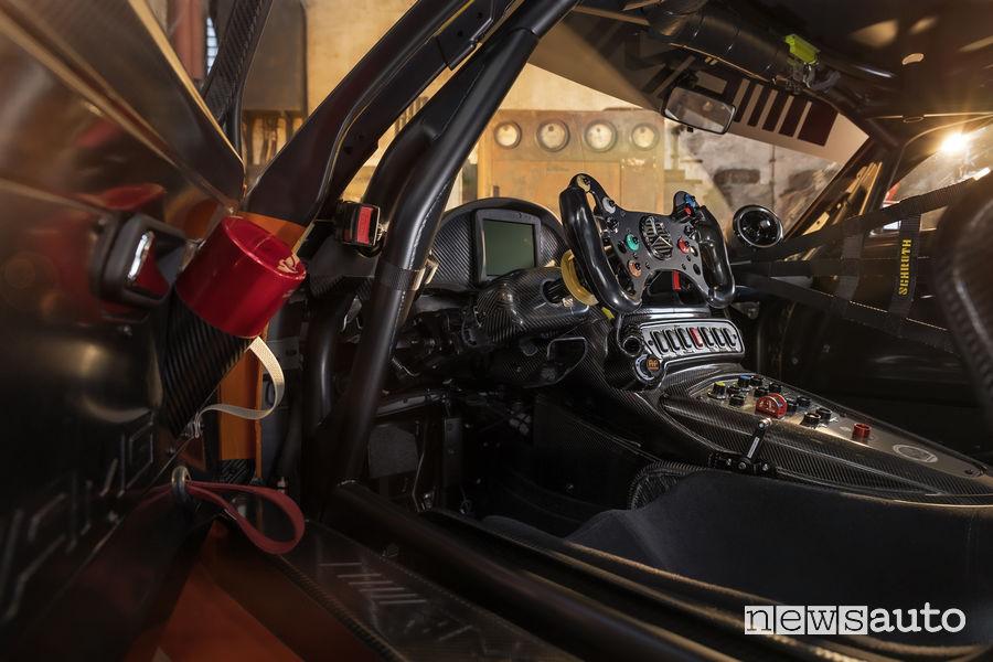 Mercedes-AMG GT3 2019 abitacolo racing