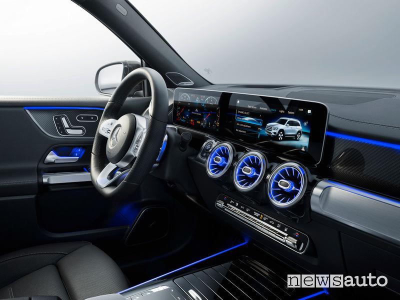 Mercedes-Benz GLB plancia strumenti