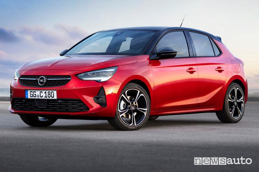Opel Corsa 2019 vista di profilo