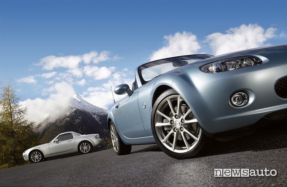 Mazda MX-5 vecchia e nuova
