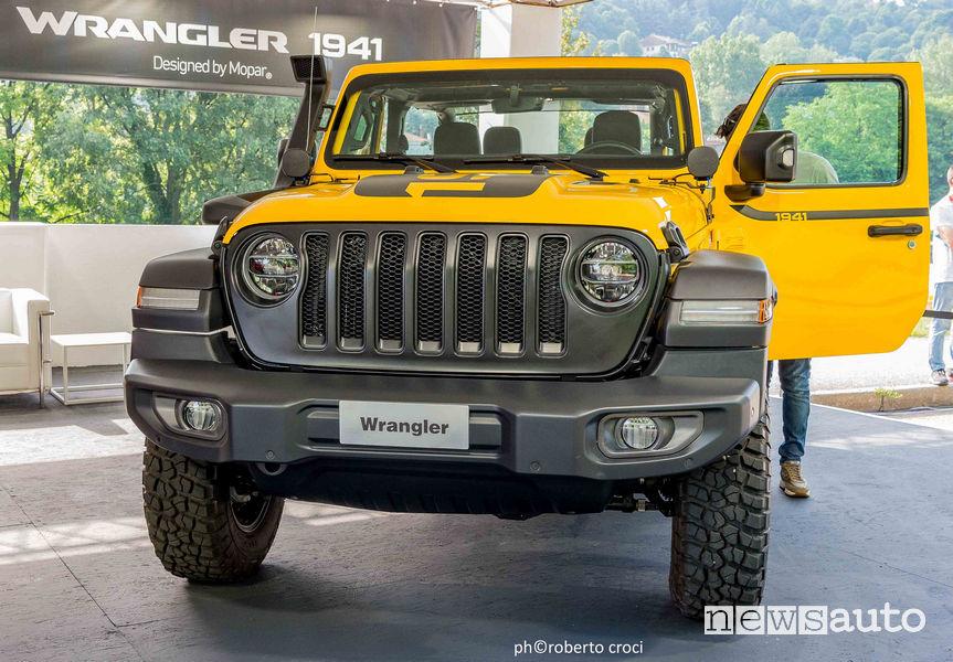 Salone Auto di Torino Parco Valentino 2019: Jeep Wrangler 1941 Mopar