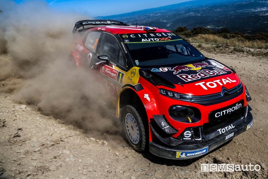 WRC Rally Portogallo 2019 Ogier Citroën C3