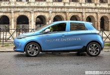 Auto elettrica a Roma Zoe