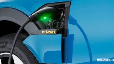 batterie auto elettriche ricarica Audi e-tron