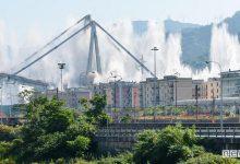 VIDEO demolizione Ponte Morandi di Genova