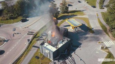 Photo of Esplosione distributore idrogeno, paura in Norvegia