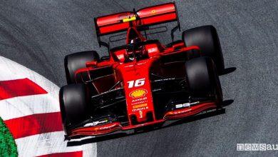 Qualifiche F1 Gp Austria 2019 Ferrari Leclerc