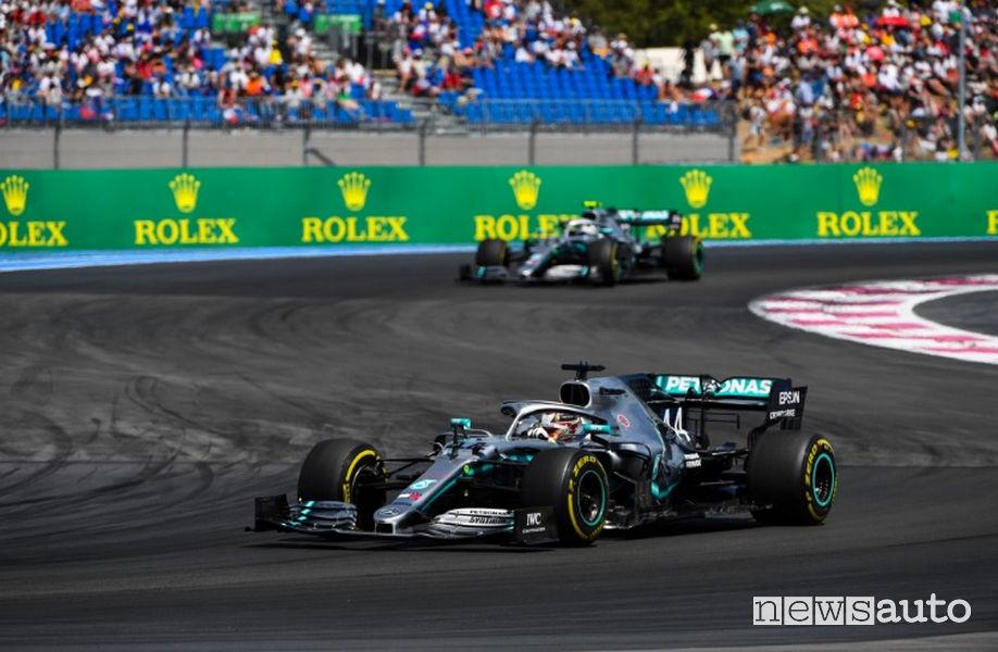 F1 Gp Francia 2019 doppietta Mercedes-AMG