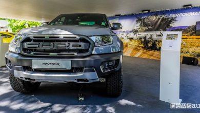 Ford Ranger Raptor Salone dell'Auto di Torino Parco Valentino 2019