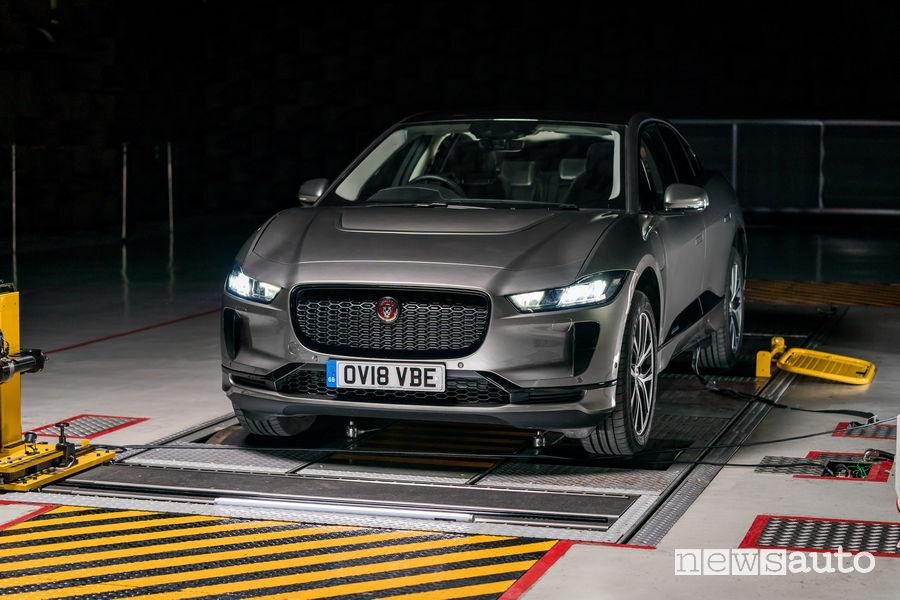 Rumore auto elettriche Jaguar I-Pace